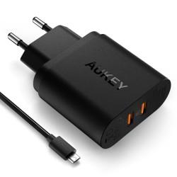 Ładowarka sieciowa AUKEY PA-T11 6 x USB Quick Charge 3.0