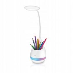 Bezprzewodowa lampka biurkowa z pojemnikiem