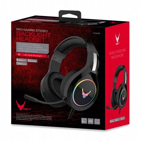 Słuchawki gamingowe dla graczy + mikrofon VARR