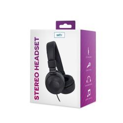 Słuchawki nauszne przewodowe Setty z mikrofonem
