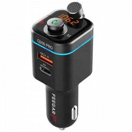 Transmiter bluetooth FM FEEGAR Q200 Pro