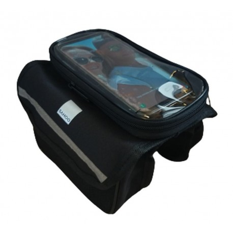 Zestaw torebek na ramę roweru z pokrowcem na telefonu