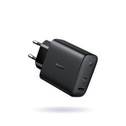 Ładowarka sieciowa Aukey 30W USB-C PD 3.0 + USB